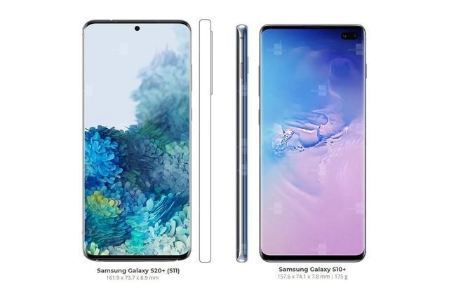 2020年2月11日,Samsung Galaxy S20发布,搭载骁龙865