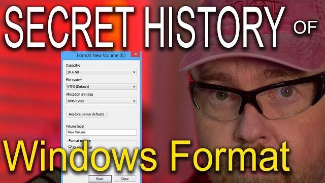 解密:Windows为何只支持32GB的FAT32分区