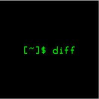 diff(分析两个文件并打印不同的行)