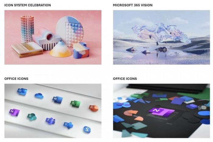 微软设计团队放出19张为Windows打造的精美壁纸