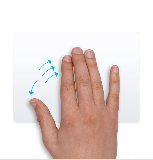 使用多点触控手势 - 基础知识 - macOS使用手册