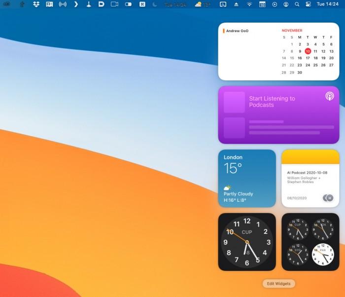 macOS Big Sur 正式版(20201113发布)